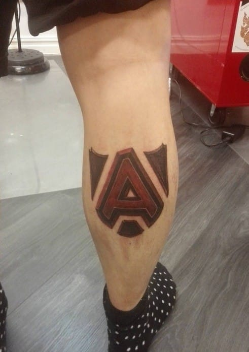 Team Alliance Tattoo