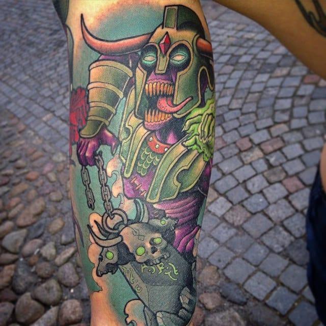 Dota 2 Dirge Tattoo
