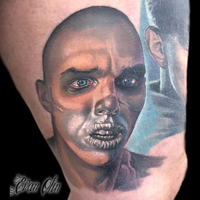 Fantastic Nux Tattoo by Evan Olin