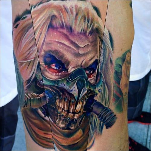 Immortan Joe Tattoo by Cecil Porter