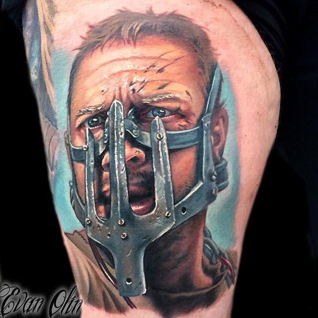 Max Tattoo by Evan Olin
