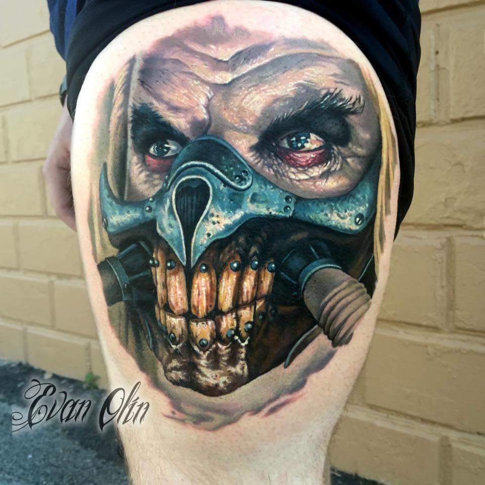 Immortan Joe Tattoo by Evan Olin