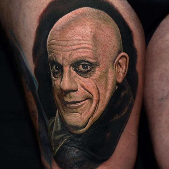 Addams Family Tattoo by Nikko Hurtado