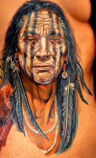Native American by Dmitriy Samohin