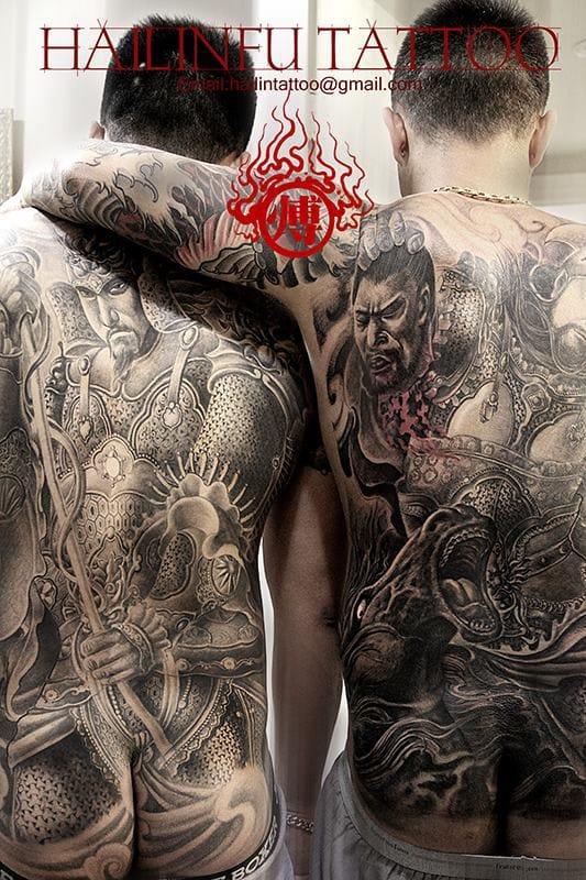 Backpieces by Hailin Fu