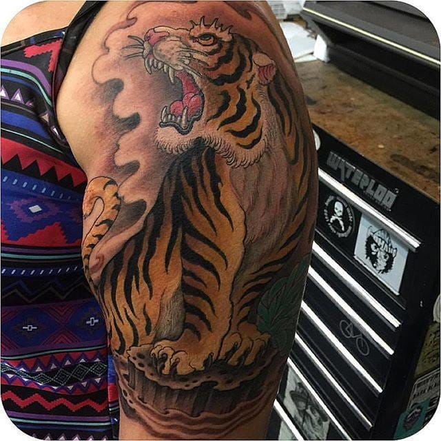 Tiger Tattoo by Ami James
