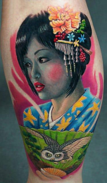 Anabi Tattoo e a beleza oriental!