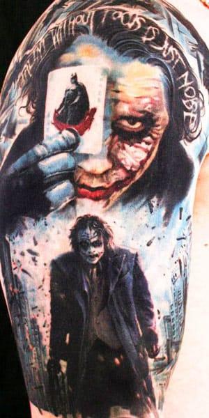Why So Serious? 13 Tatuagens Sensacionais Do Coringa