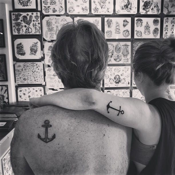 16 Heartwarming Father And Daughter Tattoos