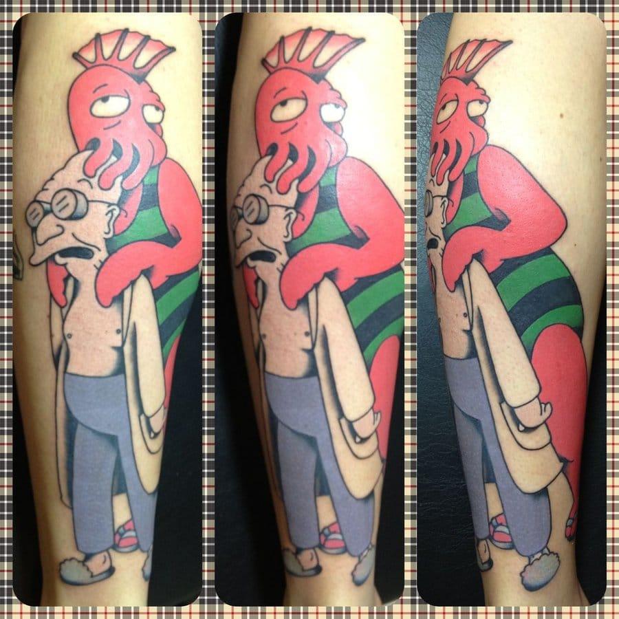 Tattoo by Christian Socha