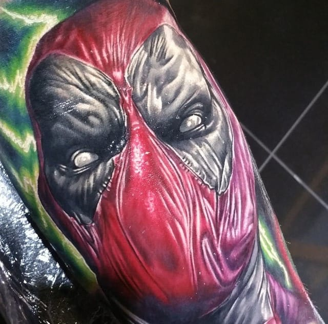 10 Radical Deadpool Tattoos
