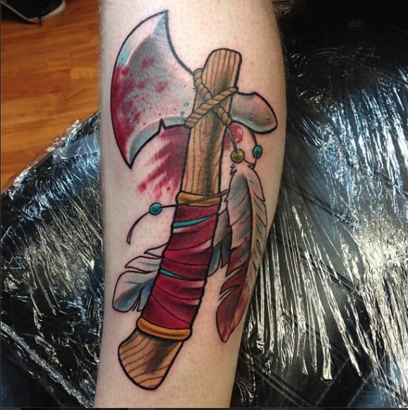 Tattoo by Pony Lawson