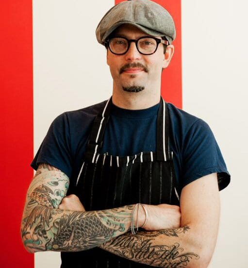 SAM MASON, Chef/co-owner, OddFellows Ice Cream Co.
