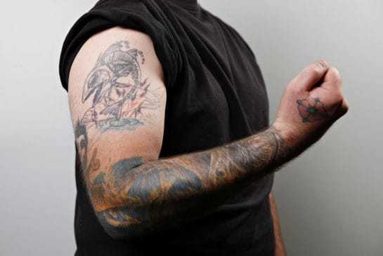 Gillard's Elbow Tattoo Is A Tribute To The Fallen