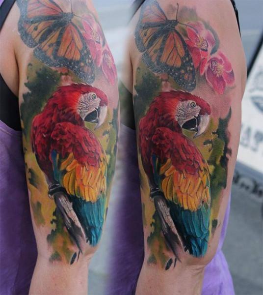 True Parrot Tattoo by Piranha Tattoo Supplies