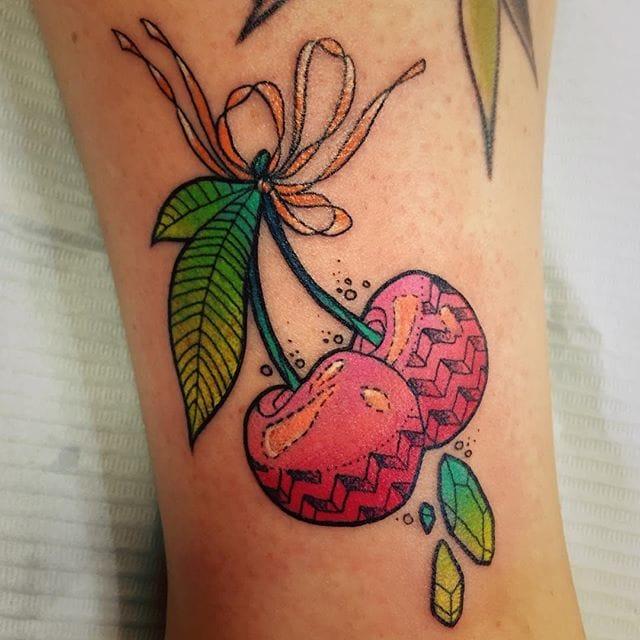 Pretty tattoo by Katie Shocrylas.