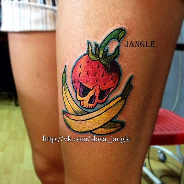 Badass fruits by Slava Jangle.