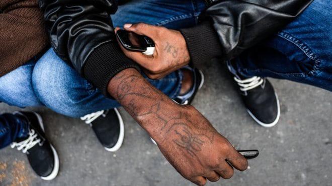 Eritrean Migrants Get Tattooed Before Beginning Their Journey!