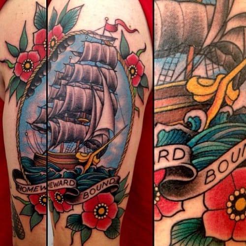 10 Timeless Homeward Bound Tattoos