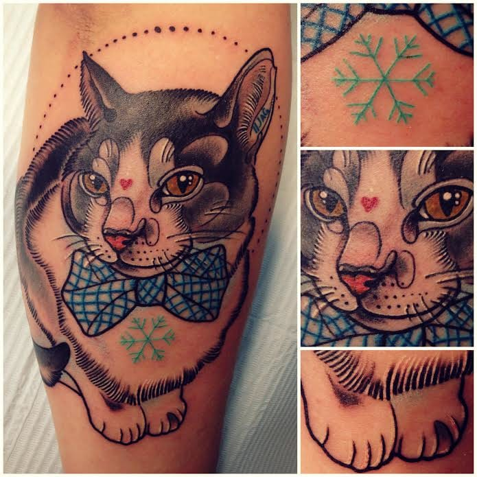 Cute cat by Katie Shocrylas!