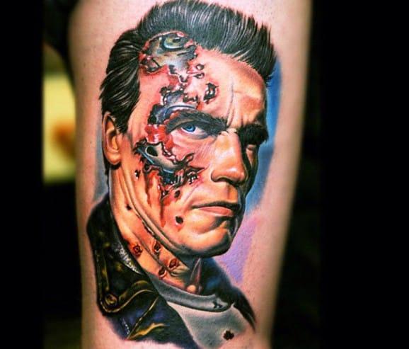 15 Brilliant Terminator Tattoos