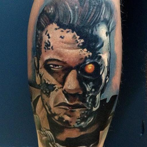 Terminator Tattoo by Underworld Tattoo Supplies
