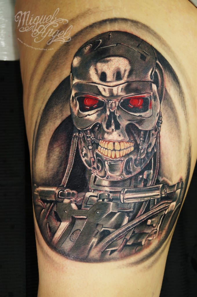 Bold Tattoo by Miguel Angel