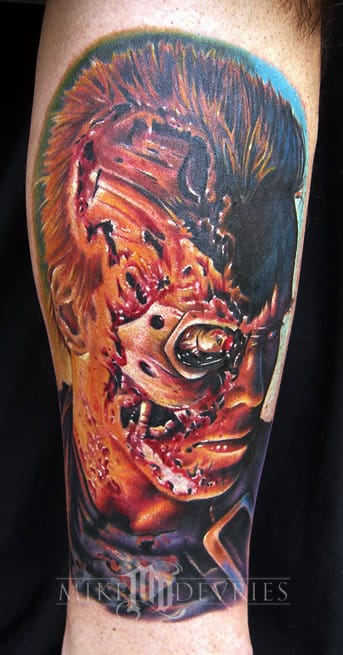 Fantastic Tattoo by Mike DeVries