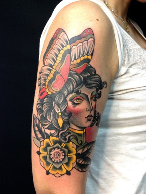 Solid Tattoo by Gianni Orlandini