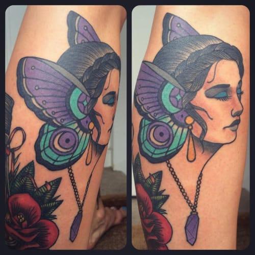 Gorgeous Tattoo by Jack Goks Pearce