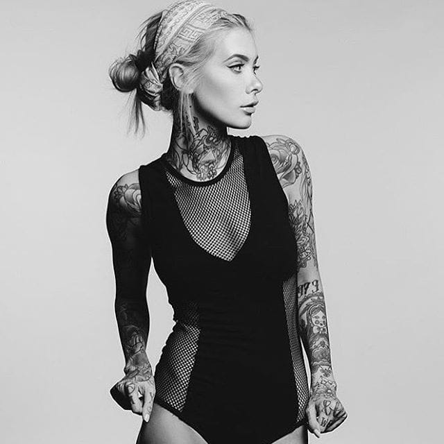 Hottest Inked Models/ Valentina Belleza, via @valentinabelleza