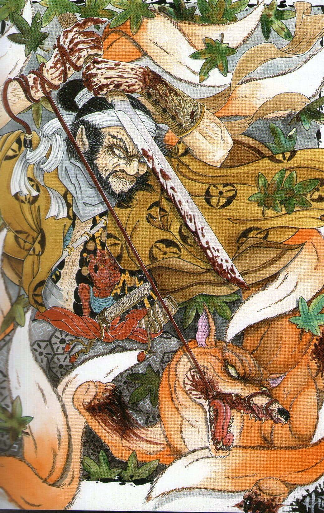 KITSUNE illustration by Uncle HO.