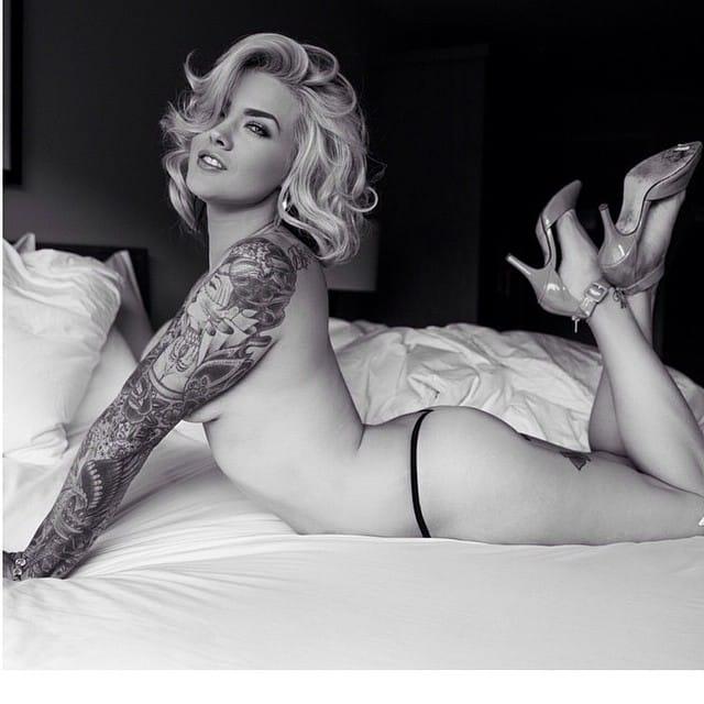 [Nsfw] 10 Amazing Tattooed Models