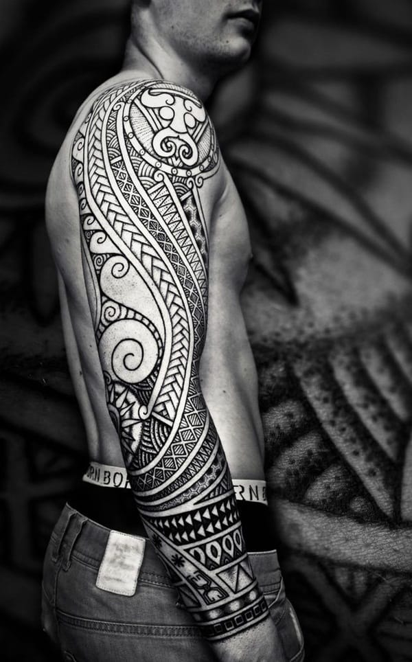 Tribal Tattoo Website: Throwback To The Tribal Tattoos Of The 90's