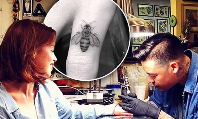 Little bee tattoo