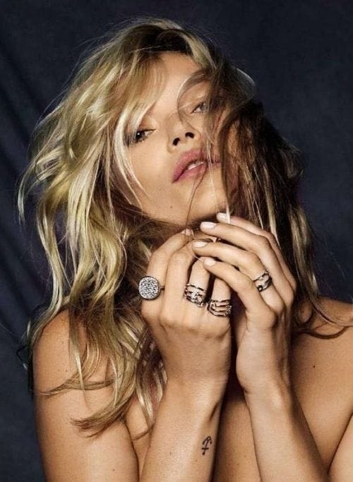 Kate Moss anchor tattoo