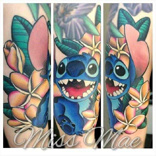 12 Cute Lilo And Stitch Tattoos