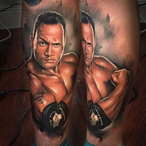 The Rock In Ink: Bold Dwayne Johnson Tattoos!