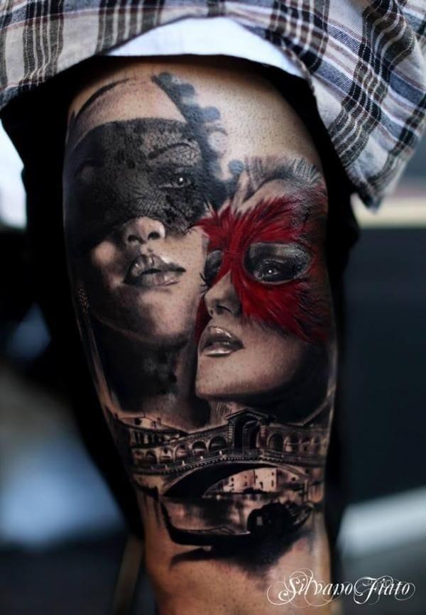 Great tattoo by Silvano Fiato.