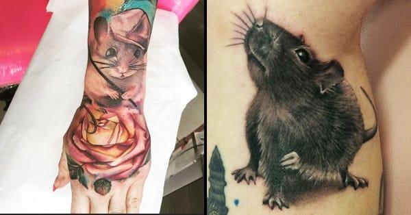 Pet Rat Tattoo