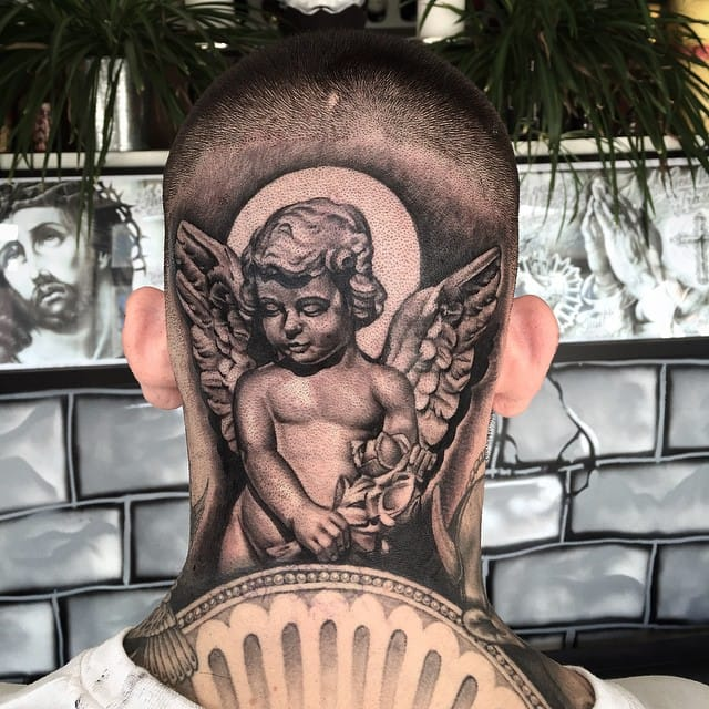 15 Gentle Cherub Tattoos
