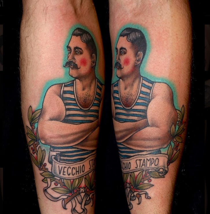 Tattoo by Pietro Sedda.