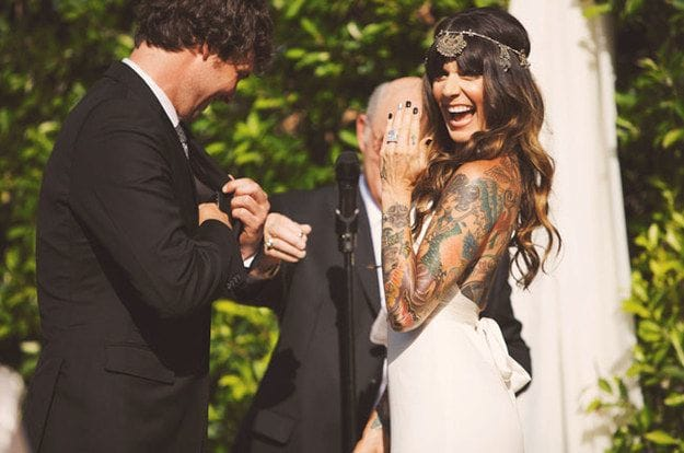 6 Reasons To Say Yes To Tattoos At Your Wedding