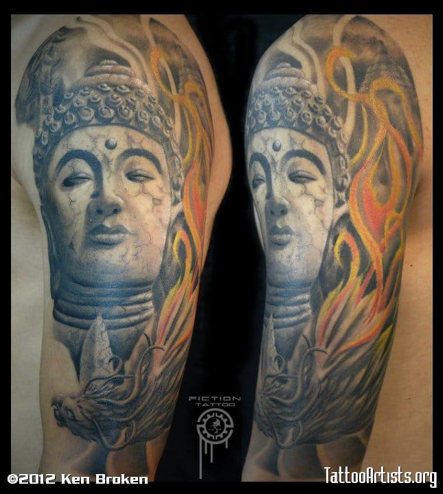 Cool tattoo by FICTION TATTOO