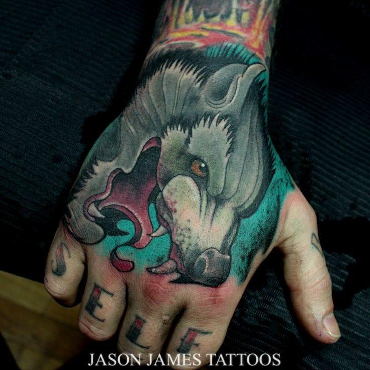 Tattoo by Jason James
