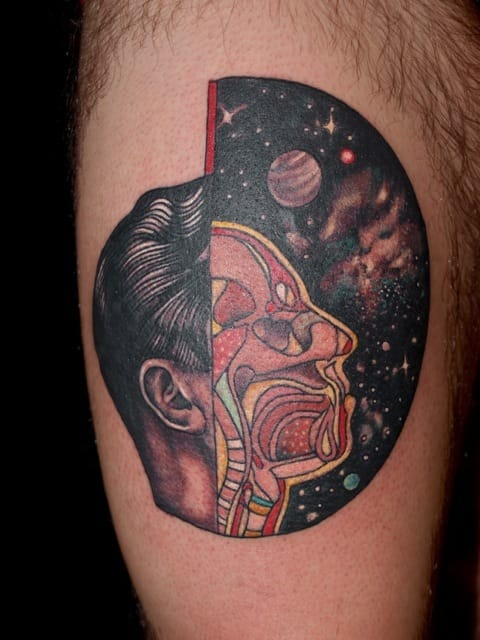 Incredible tattoo by Pietro Sedda