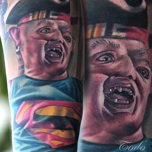 Sloth Tattoo by Todo Tattoo
