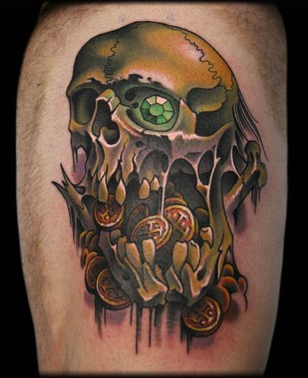 Goonies Tattoo by Jeff Ensminger