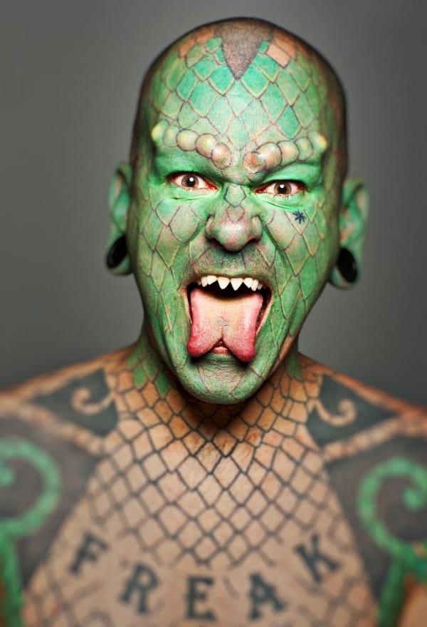 The Lizardman!
