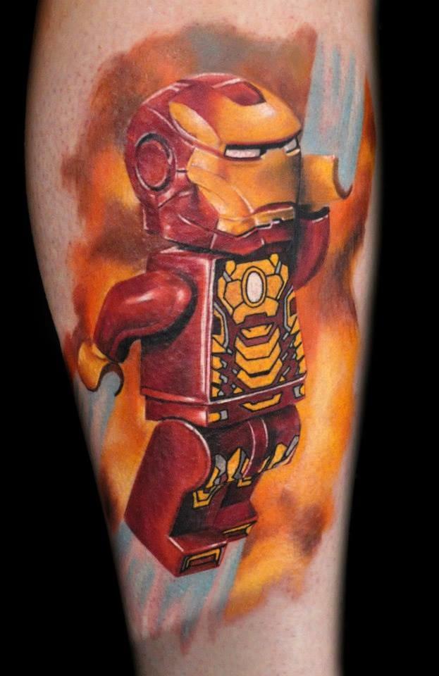 E esse Iron Man? Fantástico!